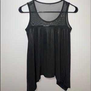 Loose sleeveless top